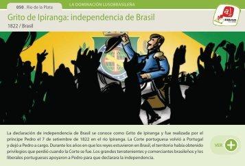 Grito de Ipiranga: independencia de Brasil - Manosanta