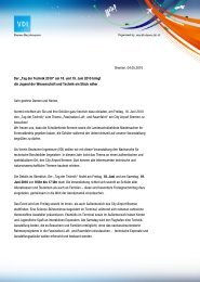 Einladung aller Schulen PDF - Tag der Technik