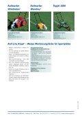 Weisse Markierungsfarbe für Sportplätze - Aebi-Kaderli - Seite 2