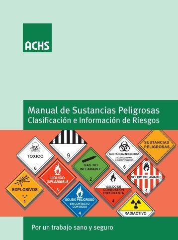 Manual de Sustancias Peligrosas - Asimet