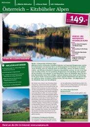Österreich – Kitzbüheler Alpen