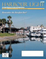 Remember the Barefoot Bar? - Harbour Light Magazine