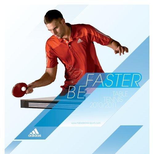 Enorme A gran escala esponja  TABLE TENNIS 2010/2011 - adidas Table Tennis: Home