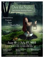 June 19 — July 27, 2012 - Burbank Public Library
