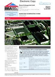 Resitrix Roof Waterproofing Systems - Takcentrum