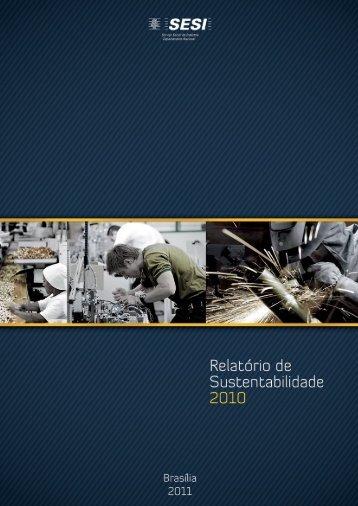 Relatório de Sustentabilidade SESI - CNI