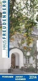 Programm herunterladen - Haus Freudenberg