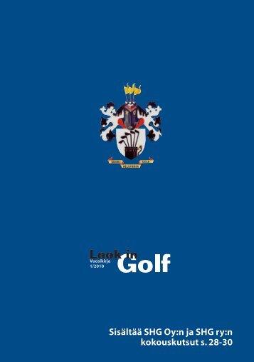 Look in Golf 1/2012