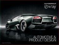 Brochure for Automotive and Product Industry - Chaos Group