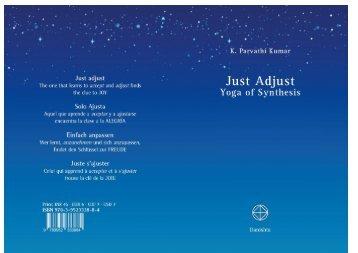 Just Adjust - The World Teacher Trust