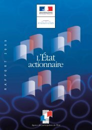 Etat Actionnaire, rapport 2009 - Maths-fi.com