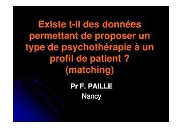 Pr François Paille - SFA