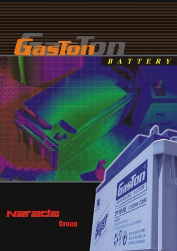 General Catalogue - Gaston Battery Industrial Ltd.