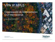 Red IP MPLS - ICAO