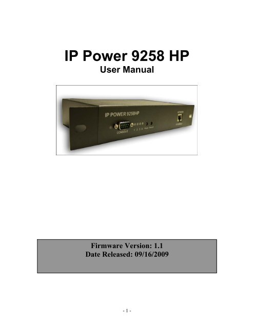ip9258 firmware