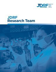 Research Partnerships and Alliance Management - JDRF