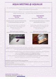 Pacchetti promozionali - Event Report