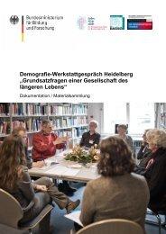 Materialsammlung - Mensch-Technik-Interaktion im demografischen ...