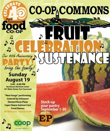 PARTY! - Port Townsend Food Co-op