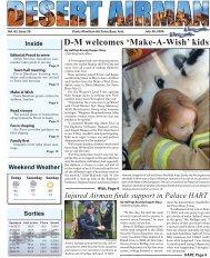 D-M welcomes 'Make-A-Wish' kids - Davis-Monthan Air Force Base