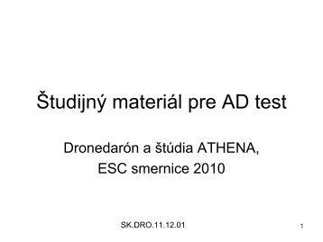 dronedaron_a_studia_athena.pdf - Zdravie.sk