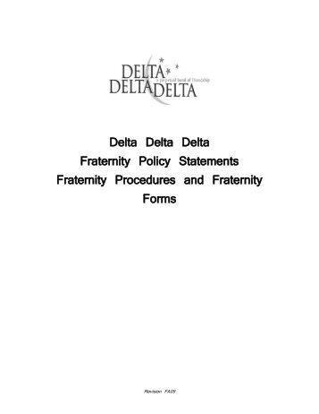 Membership Status Change Request Form-SECTION I.pdf - Tri Delta