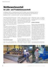 Bericht - Zinser Schweisstechnik GmbH