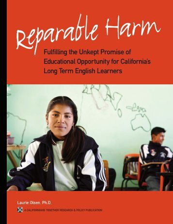 Reparable Harm - Californians Together