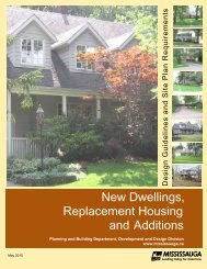 Replacement Housing, New Dwellings and Additions Guidelines