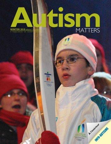 Winter 2010 - Autism Ontario
