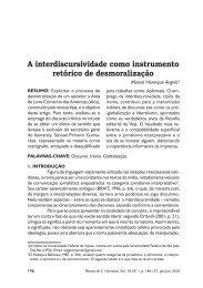 Artigo completo - Centro de Ciências Humanas, Letras e Artes