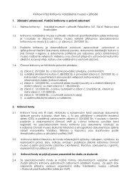Knihovní řád Knihovny Valašského muzea v přírodě 1. Základní ...