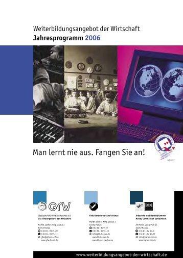 1 Titel-Umschlag 06-05.indd - Schule-Wirtschaft, Partnerschaft für ...