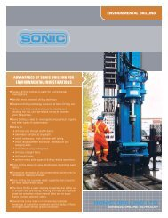 Environmental Investigations - Sonic Drilling Ltd.