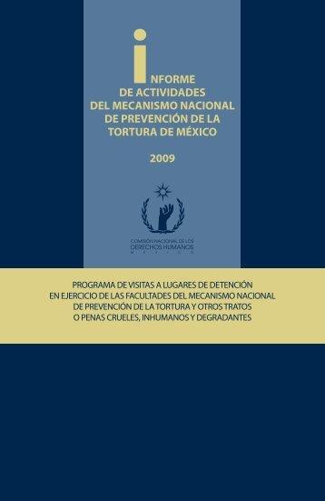 iNFORME DE ACTIVIDADES DEL MECANISMO NACIONAL DE ...
