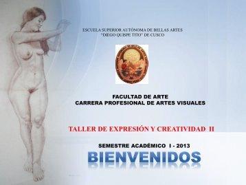 creatividad primera parte - Escuela Superior Autónoma de Bellas ...
