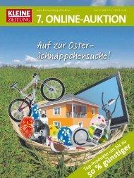 7. Online-Auktion - Kleine Zeitung