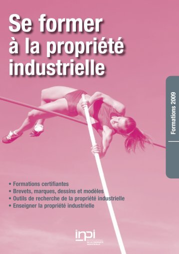 Catalogue des formations 2009 - Inpi