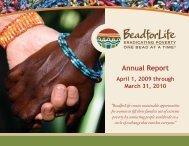Annual Report 2009-2010 - BeadforLife