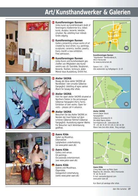 Art/Kunsthandwerker & Galerien - Den lille turisme