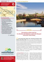 Lebenstraum Transsibirische Eisenbahn - Reisefieber