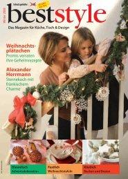 Weihnachts- plätzchen - Porzellan und Glas