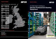 A Dedicated Catalogue Kärcher Professional Cleaning ... - Arco