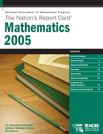 The Nation's Report Card: Mathematics 2005 - National Center for ...