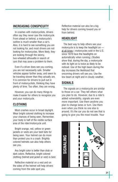 Motorcycle Manual - DMV - New York State