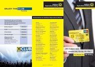 Zum Download der Broschüre Konto-Angebote - RRB Mödling