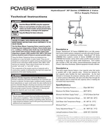 Instruction Manual for Malibu 300 Watt Transformer