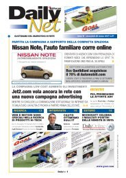 Nissan Note, l'auto familiare corre online