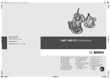 GMF 1400 CE Professional