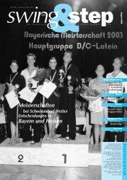 Meisterschaften Bayern und Hessen - Deutscher Tanzsportverband eV